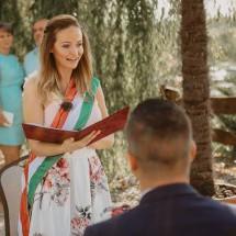 Vásárhelyi Petra - Esküvői szertartásvezető | Esküvői szertartás pillanatképek